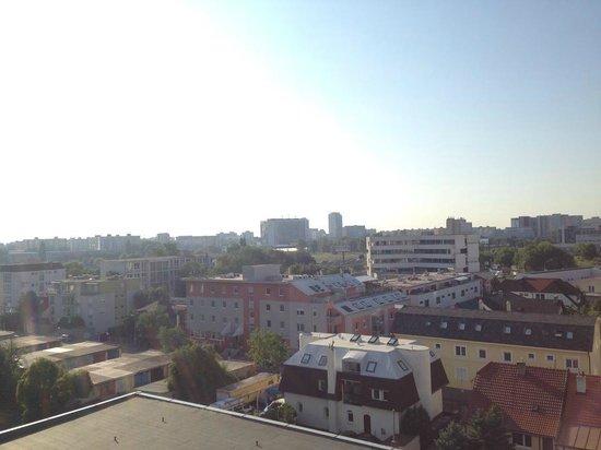 Hotel Nivy: View from balcony