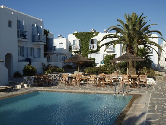 Aeolos Mykonos Hotel : Overwiew of the hotel