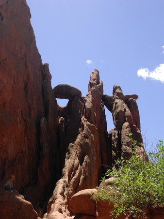 Garden of the Gods: rocce