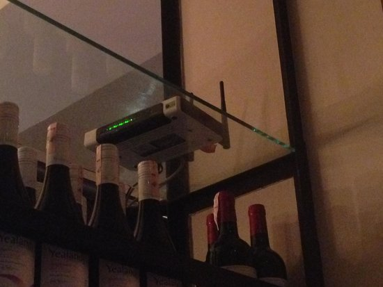 Union Bar and Grill: don't be fooled by red flashing lights
