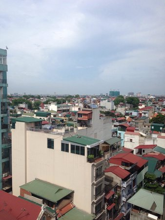 Flower Garden Hotel: Views over Hanoi