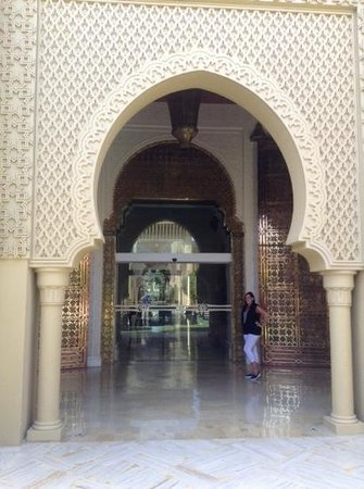 Mazagan Beach & Golf Resort: grand entrance