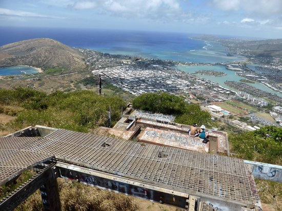 Koko Crater Railway Trail: 頂上からの眺め2