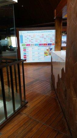 Anantara Uluwatu Bali Resort : restaurant entrance