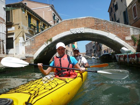 Venice Kayak : During our afternoon tour