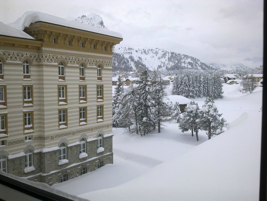 Maloja Palace Hotel: View from room