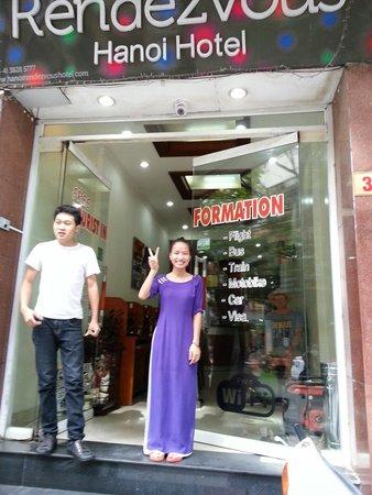 Hanoi Rendezvous Hotel : Friendly staff