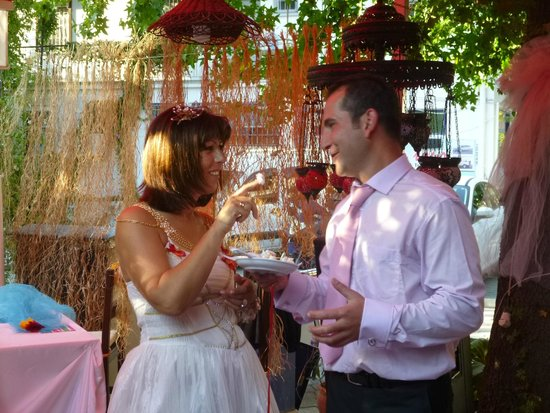 Nichola and Dogan's Wedding last year at the Mozaik Bahce