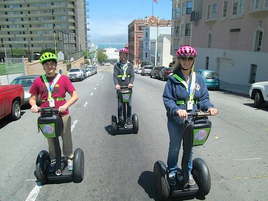 Electric Tour Company Segway Tours: Never a dull moment
