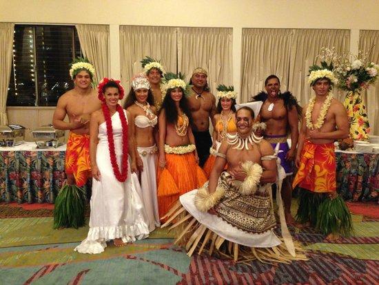 Te Moana Nui, Tales of the Pacific: Te Moana Nui performers