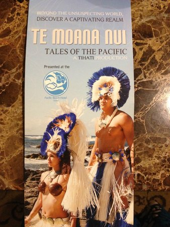 Te Moana Nui, Tales of the Pacific: Brochure