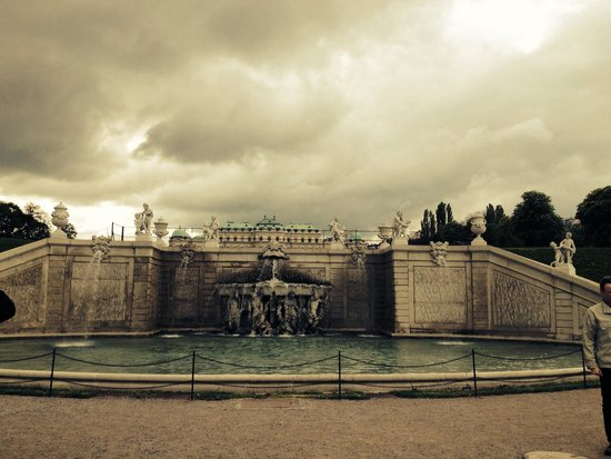Belvedere Palace Museum: Lovely surroundings