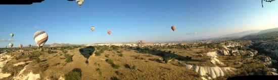 Royal Balloon - Cappadocia: Panoramic view