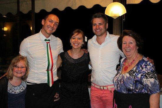 Ristorante Al Vapor: Pietro, seine Mamma und das ganze Team sind mit viel Leidenschaft und Freude dabei!