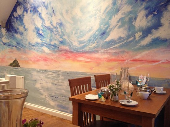 Mackerel Sky: The lovely wall mural