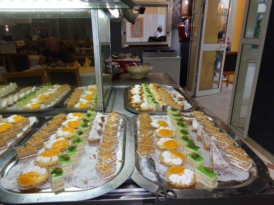 Eden Star Zarzis : desserts