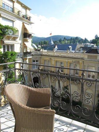 Heliopark Bad Hotel zum Hirsch : View from the balcony