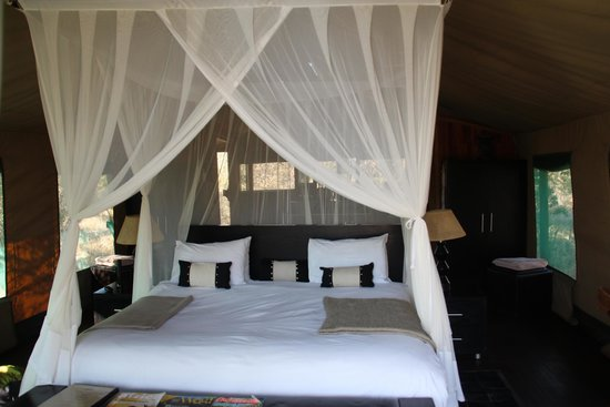 Haina Kalahari Lodge : Comfortable beds