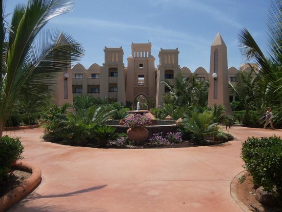 Hotel Riu Touareg : One of the cross roads within resort