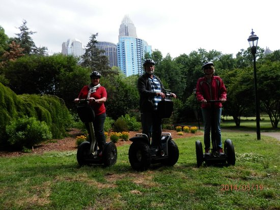 Nov 26, · This Charlotte Segway tour meets inside the Overstreet Mall. Arrive about 30 minutes before your tour time. Once you get set up with a helmet and a Segway, listen to a short overview of how to safely drive your Segway. Out on the streets, follow your guide around the Uptown neighborhood.5/5().