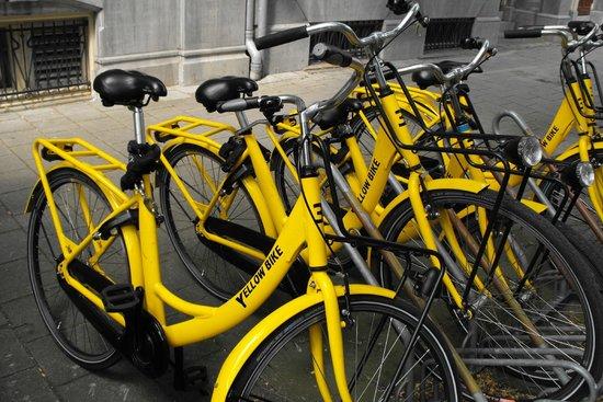 Bilderberg Hotel Jan Luyken: Bike hire
