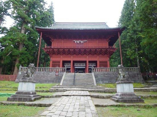Iwakiyama Shrine: 岩木山神社