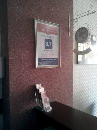 Hosta Park Hotel: Otelin girişi