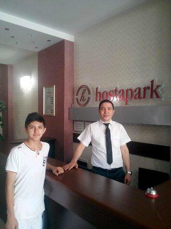 Hosta Park Hotel: Semih ve Hostapark