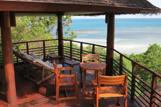Kamalaya Koh Samui: Quiet area above wellness centre