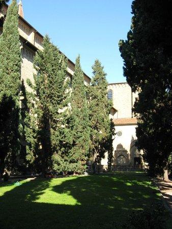 Museo Novecento: Внутренний дворик
