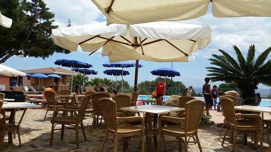 Parco Blu Club Hotel Resort : Vista dal bar