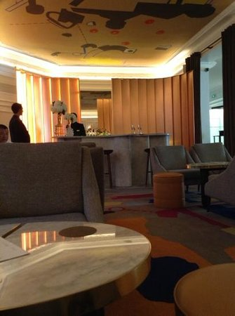 Hotel Vernet : bar, belle deco