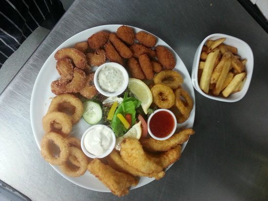 The Plaice Restaurant: Seafood Platter to Share