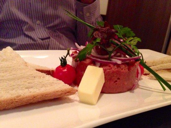 Restaurant Kornhauslturm: Very tasty Beef Tatare