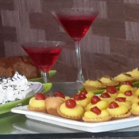 Filion Suites Resort & Spa : gorgeous puddings and sweets
