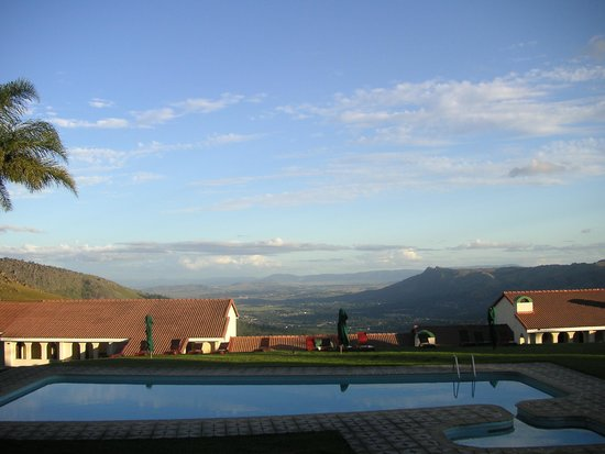 Swaziland. Mbabane. Hotel Mountain Inn. Apr. -14