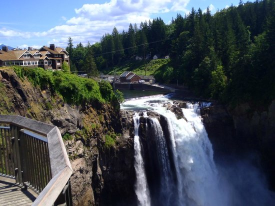 Snoqualmie Falls: Falls
