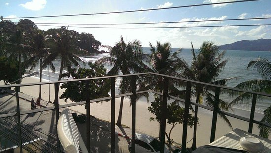 Patong Signature Boutique Hotel: View from the balcony