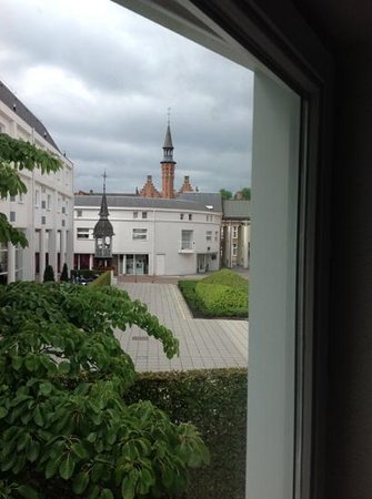 Novotel Brugge Centrum : view from room 212
