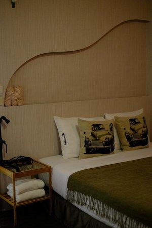 Minimi Inn : comfortable double bed