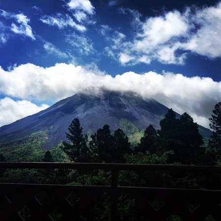 Arenal Observatory Lodge & Spa: volcano