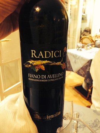 Ristorante Mediterraneo: Amazing wine