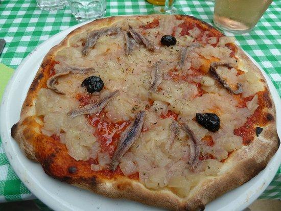 Casa Castagno: Pissaldiere pizza