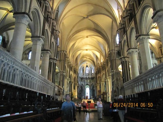 Canterbury Cathedral: The nave