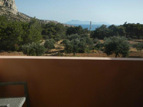Miraluna Hotel : widok z balkonu