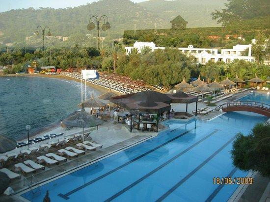 Hotel Samara : vu du restaurant panoramique