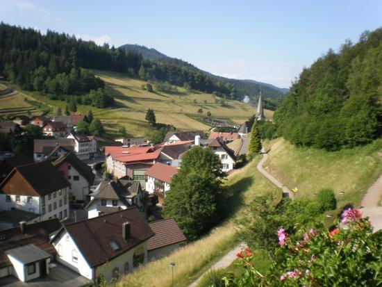 Flair Hotel Adlerbad: Blick vom Balkon