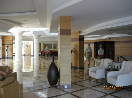 Hotel Samara : hall de la reception