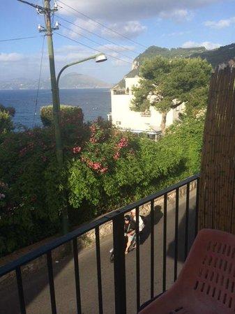 Albergo Pensione Italia: the view