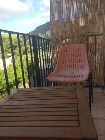 Albergo Pensione Italia: the balcony with sea view